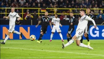 Германия и Аргентина сыграли в спарринге вничью