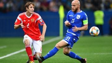 Кипр - Россия - 0:5. Текстовая трансляция матча