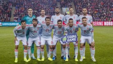 Сборная Испании играет уникальным составом против сборной Норвегии