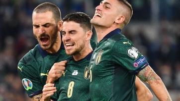 Италия квалифицировалась на Евро-2020, Испания немного притормозила