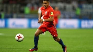 Санчес травмировался в расположении сборной Чили