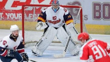 Чех дебютировал за хоккейный клуб. Видео