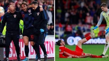 Модрич и Бэйл травмировались в матчах за сборные