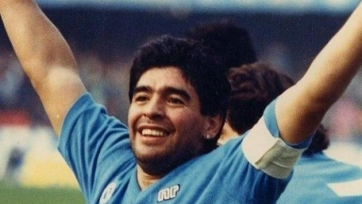 Уникальные кадры тренировки Марадоны перед ЧМ-1994
