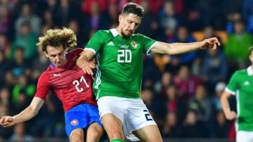 Чехия проиграла Северной Ирландии в товарищеском матче, один из голов на счету Крала