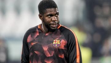 Защитник «Барселоны» возобновил тренировки после пяти недель простоя