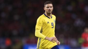 Берг забил юбилейный мяч за сборную Швеции