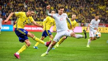 Сборная Испании вырвала ничью у Швеции и вышла на чемпионат Европы