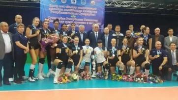 Волейболистки «Жетысу» стали обладательницами Суперкубка Казахстана