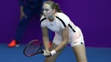 Рыбакина стала первой полуфиналисткой турнира в Люксембурге