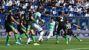 Дубли Лукаку с Мартинесом и два пенальти помогли «Интеру» сломить «Сассуоло»