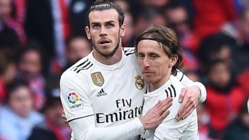 Модрич и Бэйл не сыграют за «Реал» в Лиге чемпионов