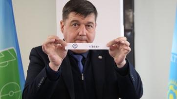 Состоялась жеребьевка 1/2 финала Кубка Казахстана по футзалу