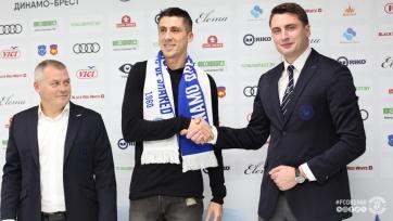 Хачериди продолжит карьеру в брестском «Динамо»