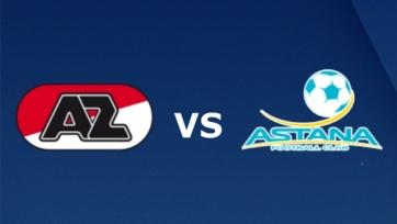 «АЗ Алкмар» - «Астана». Составы команд