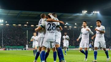 «Шальке», «Байер» и «Карлсруэ» одержали победы в Кубке Германии