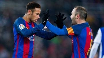 Иньеста: «Неймар – это хорошее подписание для «Барселоны»
