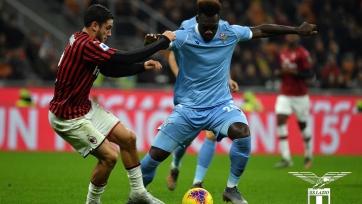 «Лацио» добился над «Миланом» исторической победы