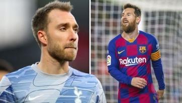 Месси забраковал переход Эриксена в «Барселону»