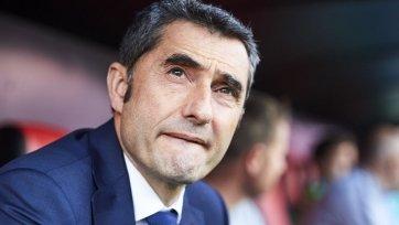 Вальверде: «Игру со «Славией» нельзя отнести к лучшим матчам «Барселоны», на нас оказывается большое давление»