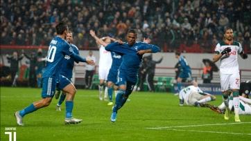 Гол Дугласа Косты в матче с «Локомотивом» претендует на звание лучшего в 4-м туре Лиги чемпионов