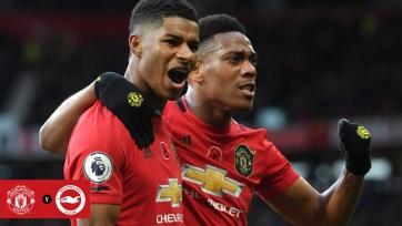 «Манчестер Юнайтед» победил «Брайтон», «Вулверхэмптон» обыграл «Астон Виллу»