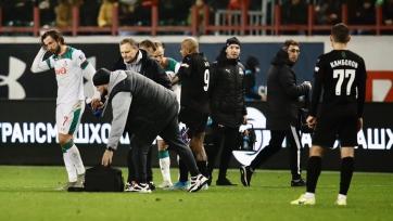 Крыховяк доставлен в больницу после матча с «Краснодаром»