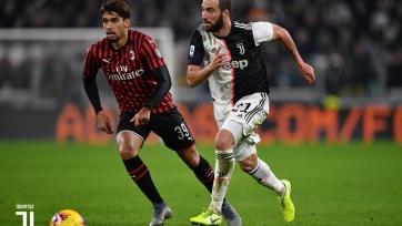 «Ювентус» справился с «Миланом», одержав минимальную победу