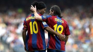 Месси: «Роналдиньо – лучший игрок «Барселоны»