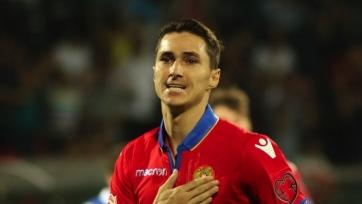 Пиззелли объявил об уходе из «Актобе» и сборной Армении