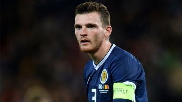 Шотландия перед Кипром и Казахстаном потеряла еще и Робертсона
