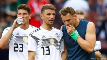 В Adidas допустили ошибки в фамилиях игроков сборной Германии. Фото