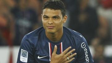 Тиаго Силва признан лучшим игроком чемпионата Франции в октябре