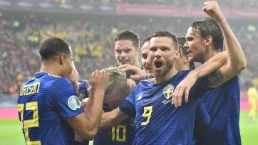 Швеция вышла на чемпионат Европы, Италия добыла девятую победу подряд