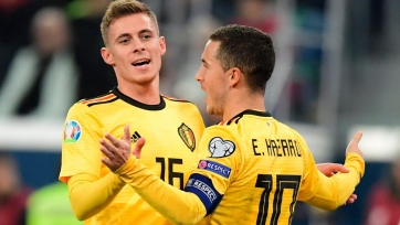 Бельгия окончательно закрепилась на первой строчке после победы на Россией
