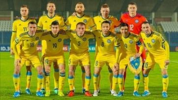 Сборная Казахстана провела юбилейный матч