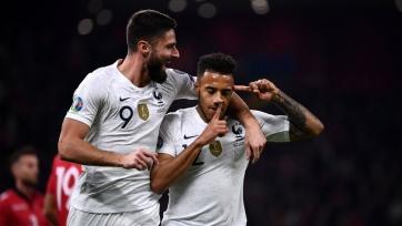 Франция обыграла Албанию, Турция одолела Андорру, но осталась второй