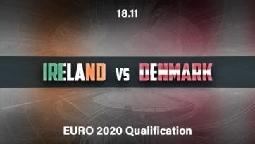 Ирландия – Дания. 18.11.2019. Где смотреть онлайн трансляцию матча