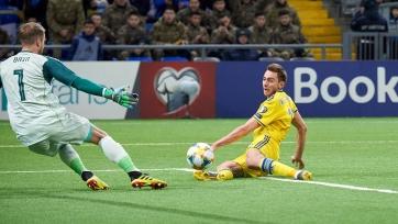 Защитник сборной Казахстана из европейского клуба не сыграет против Шотландии