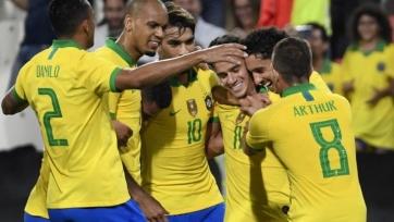 Сборная Бразилии разгромила Южную Корею в рамках товарищеского матча