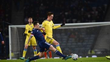 Казахстан забил первым, но проиграл Шотландии, Бельгия разгромила Кипр