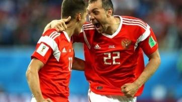 Сборная России разгромила Сан-Марино в заключительном матче отбора к Евро