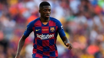 Дембеле показал, за что «Барселона» заплатила за него 120 млн евро. Видео