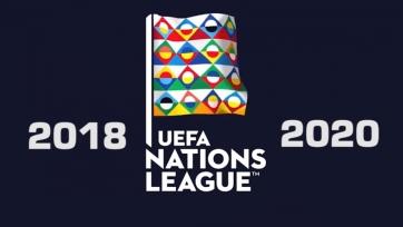 Состоялась жеребьевка плей-офф Лиги наций УЕФА. Квартет лучших поедет на Евро-2020