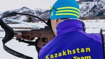 Назван состав сборной Казахстана по биатлону на первый этап Кубка мира