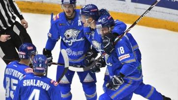 «Барыс» увековечит именные свитера своих культовых хоккеистов
