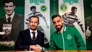 Бруну Фернандеш продлил контракт со «Спортингом»