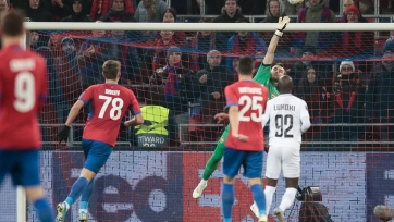 «ЦСКА» не сумел дома обыграть «Лудогорец» в матче Лиги Европы