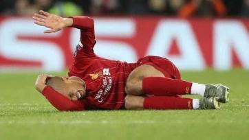 «Ливерпуль» потерял Фабиньо до Нового года