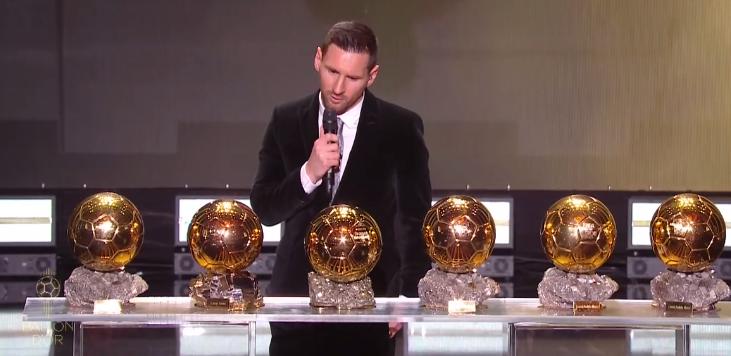 Месси и его уникальная коллекция «Золотых мячей». Видео